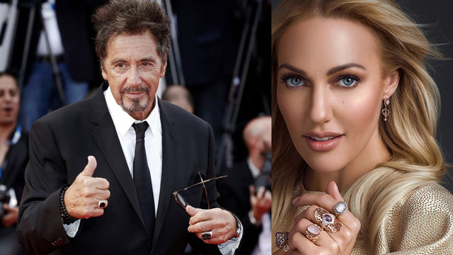 Al Pacino - Meryem Uzerli buluşması
