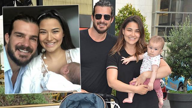 Hatipoğlu çiftinin bebekleri 8 aylık oldu