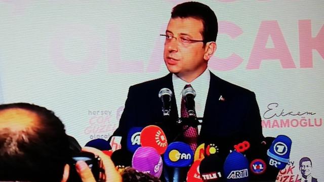 Tarihi zaferin ardından Ekrem İmamoğlu'ndan ilk açıklama