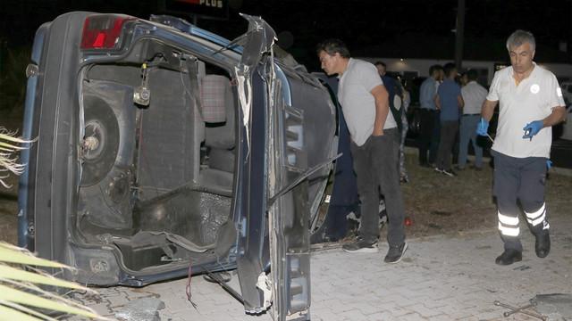Fethiye'de iki otomobil çarpıştı!