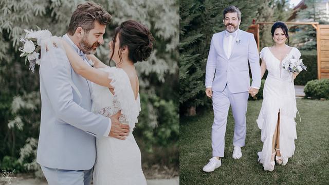 Oyuncu Kayra Şenocak Ankara'da evlendi