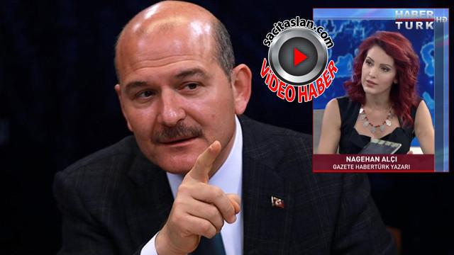 Süleyman Soylu'dan Nagehan Alçı'ya tepki!
