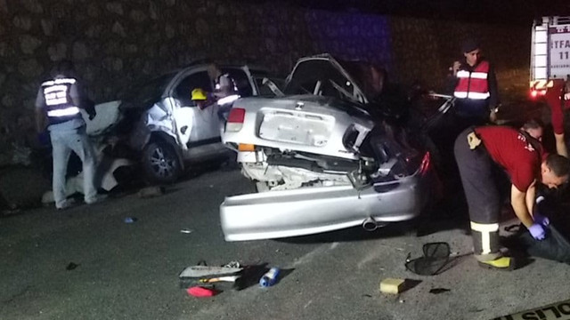 Adıyaman'da feci trafik kazası