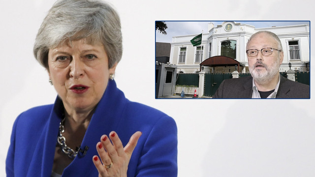 İngiltere Başbakanı May'den flaş Kaşıkçı çıkışı!