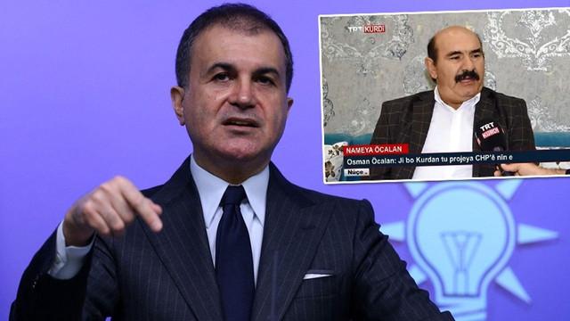 Ömer Çelik'ten flaş Osman Öcalan cevabı!