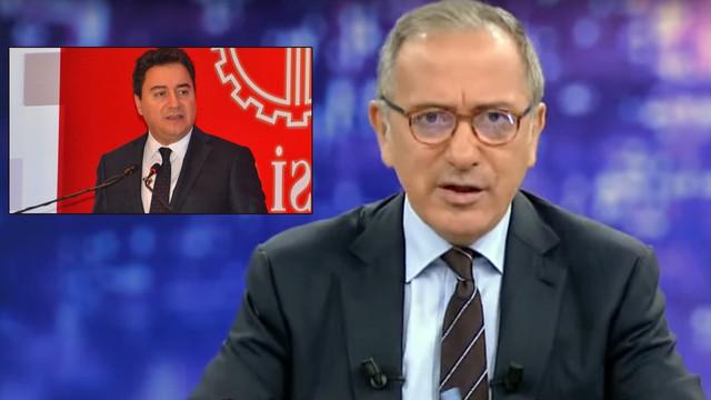 Fatih Altaylı'dan bomba Ali Babacan iddiası!