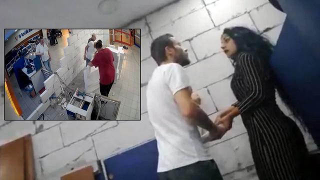 Otogarda şahit olanları şaşkına çeviren olay!