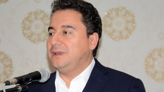Ali Babacan'dan 'yeni parti' açıklaması