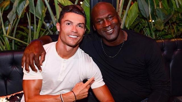 Cristiano Ronaldo - Michael Jordan buluşması