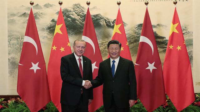 Cumhurbaşkanı Erdoğan, Çin Devlet Başkanı Xi ile görüştü
