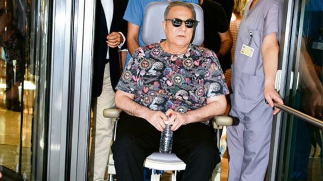 Mehmet Ali Erbil eve kapandı