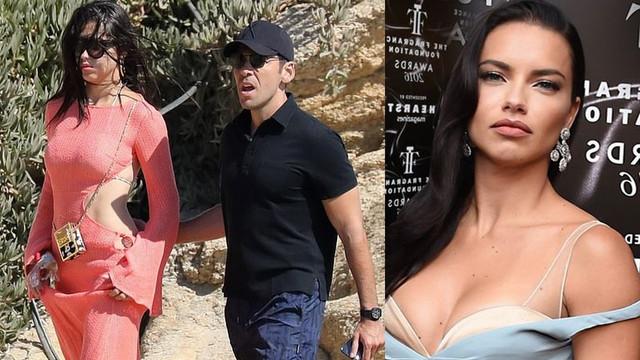 Adriana Lima, Türk sevgilisiyle Mikonos'ta görüntülendi