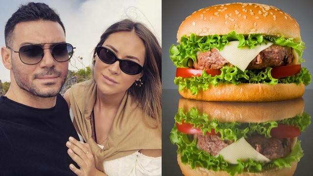 Denizin ortasında servet değerinde hamburger ziyafeti!