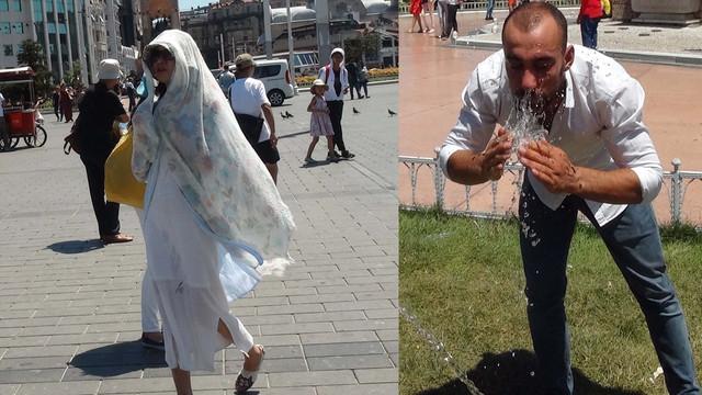 İstanbul'da termometreler 40 dereceyi gösterdi