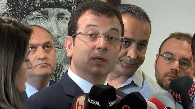 """Ekrem İmamoğlu: """"Erdoğan'dan cevap bekliyoruz"""""""