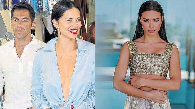 Adriana Lima ve Türk sevgilisinin gözlerden uzak tatil planı!
