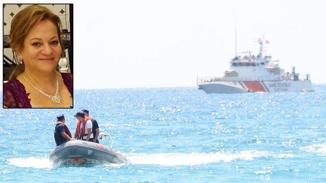Gece denize giren pansiyoncu kadının cesedi 10 saat sonra bulundu