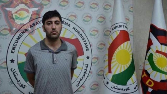 Erbil saldırganı terörist yakalandı