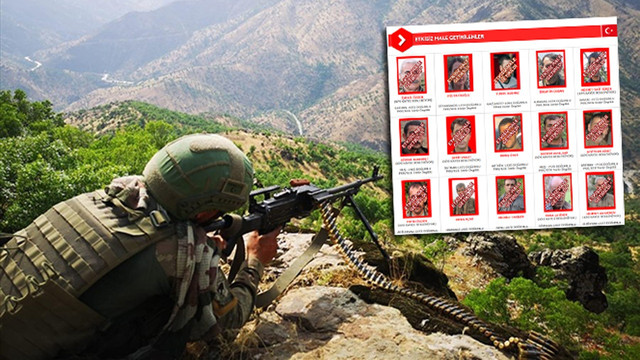 Aranan terörist listelerinden 175 milyon TL eksildi!