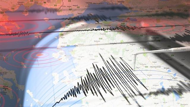 Denizli'de şiddetli bir deprem meydana geldi!