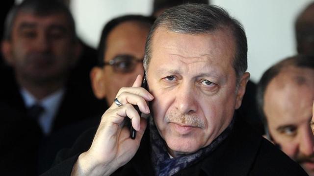 Cumhurbaşkanı Erdoğan, Almanya Başbakanı Merkel'le telefonda görüştü