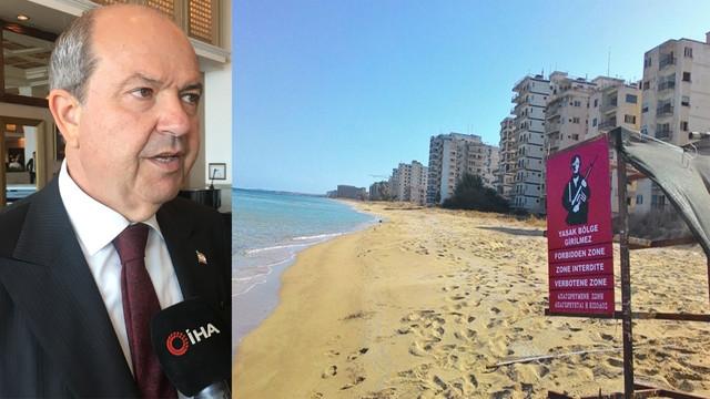 """KKTC Başbakanı Ersin Tatar: """"Maraş'ın tek sahibi KKTC"""""""