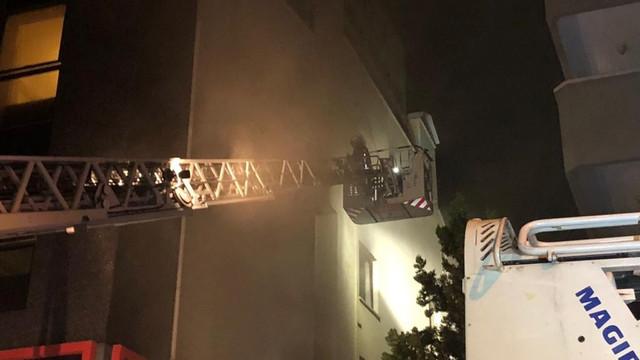 Ankara'da korkunç otel yangını!