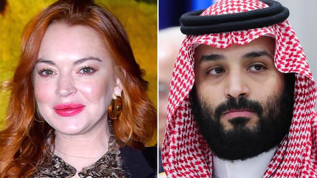 Lindsay Lohan ve Prens Selman aşk mı yaşıyor?