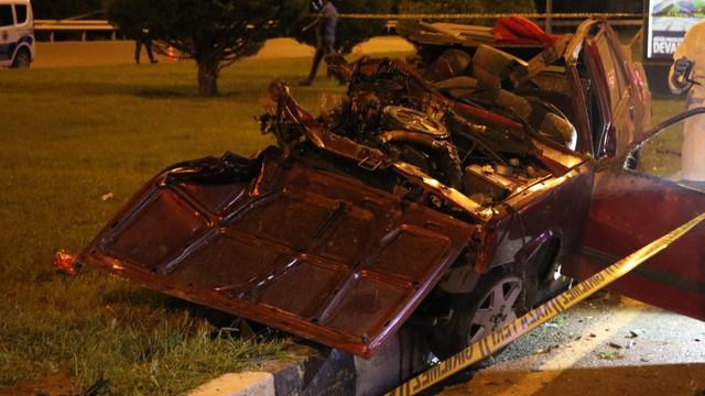 Manisa'da feci trafik kazası!
