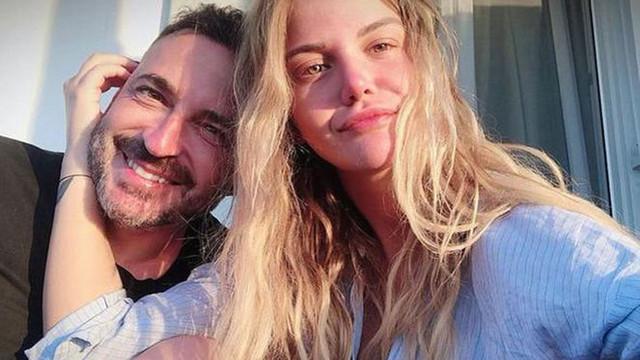 Aslı Turanlı Yunan sevgilisiyle Bodrum'da