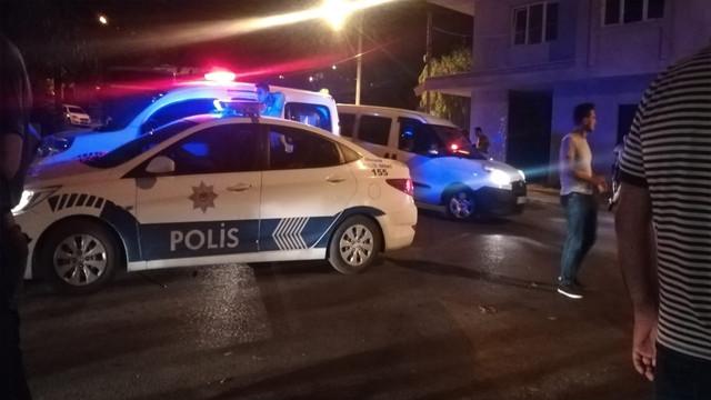 İzmir'de ev sahibi ve yabancı uyruklu kiracı arasında kavga