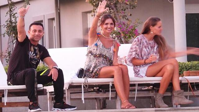 Emina Jahovic ve Mustafa Sandal'ın sürpriz buluşması