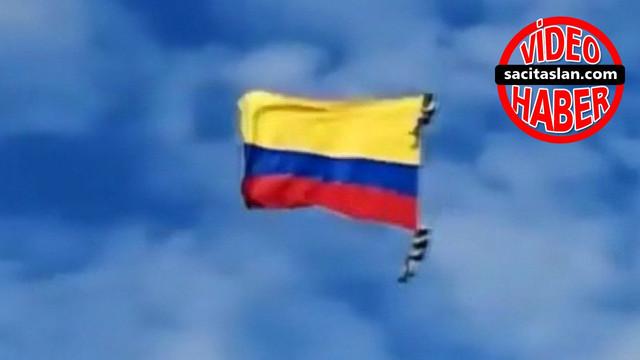 Kolombiya'da hava gösterisinde korkunç olay