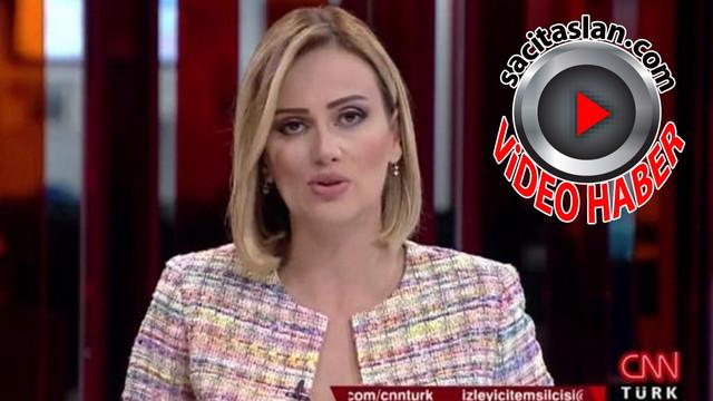 CNN Türk spikerinden tepki çeken anons