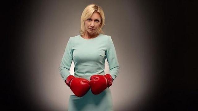 Mariya Zaharova boks eldivenli paylaşımıyla gözdağı verdi!