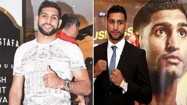 Ünlü boksör Amir Khan tatil için İstanbul'da