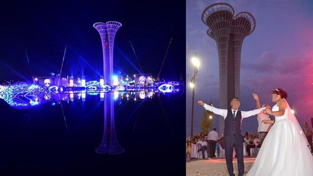 EXPO 2016'yı düğün salonu yapıp, üstünde halay çektiler!