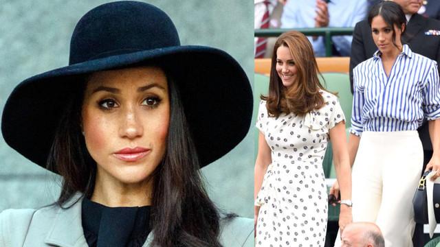 Meghan Markle, Kate Middleton'un gerisinde kaldı!