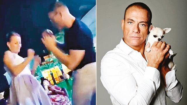 Jean Claude Van Damme gençlere taş çıkarttı