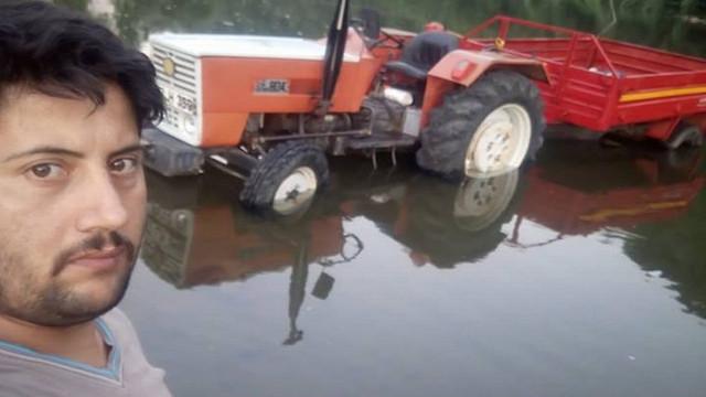 Kullandığı traktörün altında kalarak can verdi!