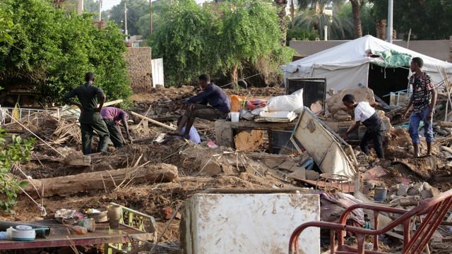 Sudan'da sel felaketi!