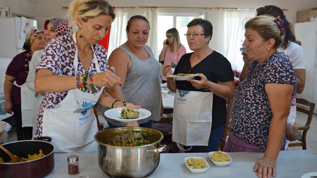Zeynep Casalini Mudanyalı kadınlarla yemek yaptı