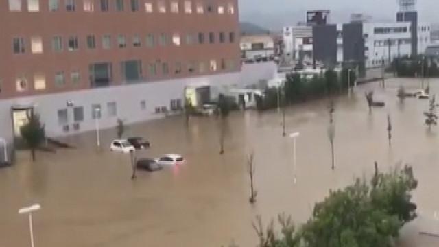 Japonya'daki sel felaketinde ölü sayısında artış