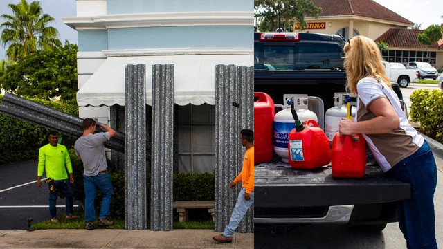 Florida, Dorian kasırgasına hazırlanıyor