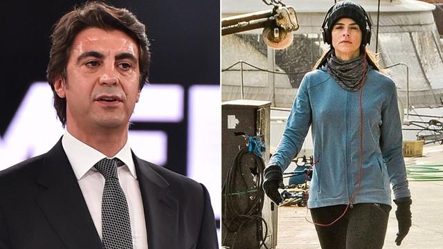 Edvina Sponza, İbrahim Kutluay'ın gardırobundan mı giyiniyor?