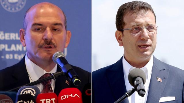 Bakan Soylu'dan Ekrem İmamoğlu'na sert uyarı!