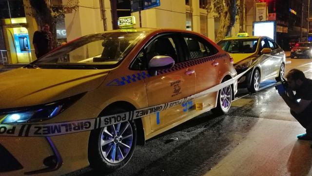 Kadıköy'de taksiye silahlı saldırı!