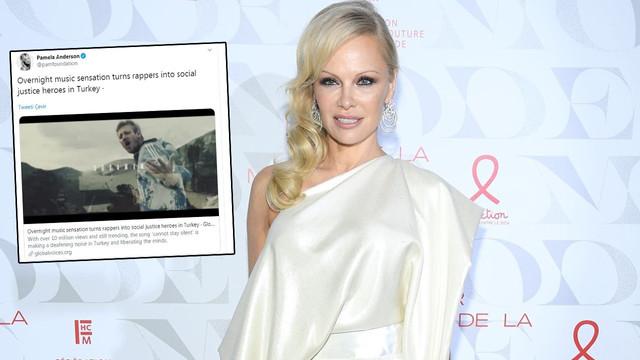 Pamela Anderson'dan 'Susamam' paylaşımı!