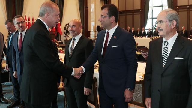 Cumhurbaşkanı Erdoğan Büyükşehir Belediye Başkanları'na seslendi