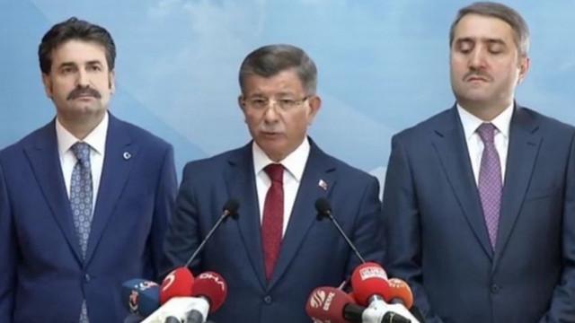 Ahmet Davutoğlu AKP'den istifasını açıkladı!